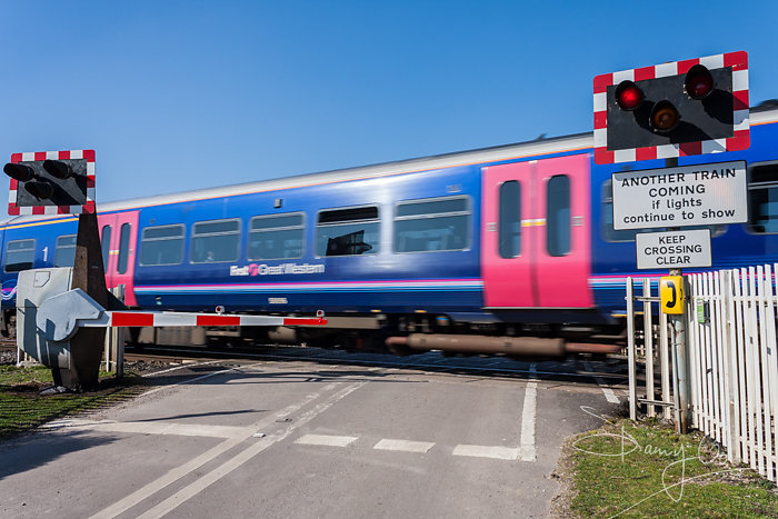 Ufton Nervet Level Crossing