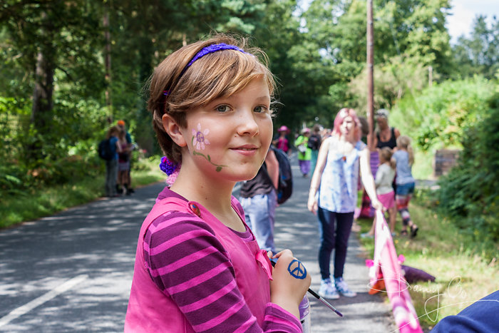 Child Peace Protester