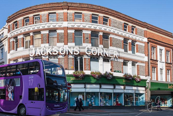 Jackson's Corner, Reading, Berkshire, England, GB, UK.