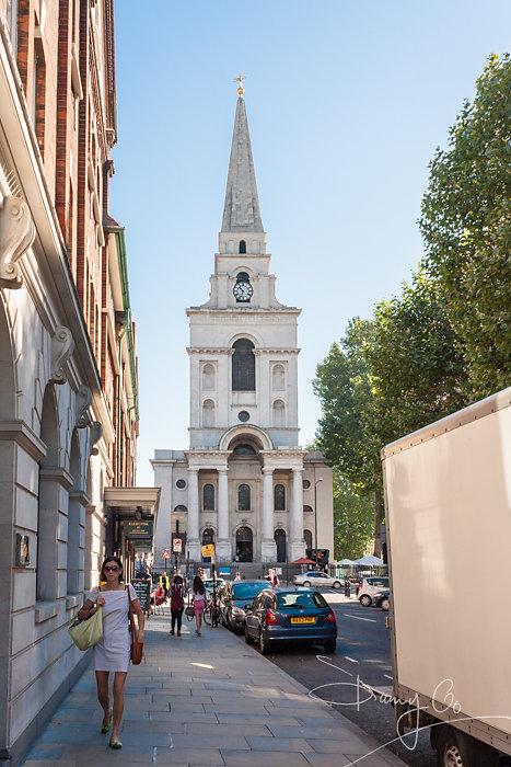 Christ Church, Spitalfields, London, England, GB, UK