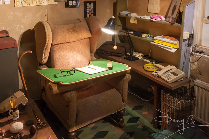 Roald Dahl's Desk and Study