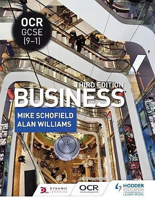OCR GCSE (9-1) Business, Third Edition (Paperback)